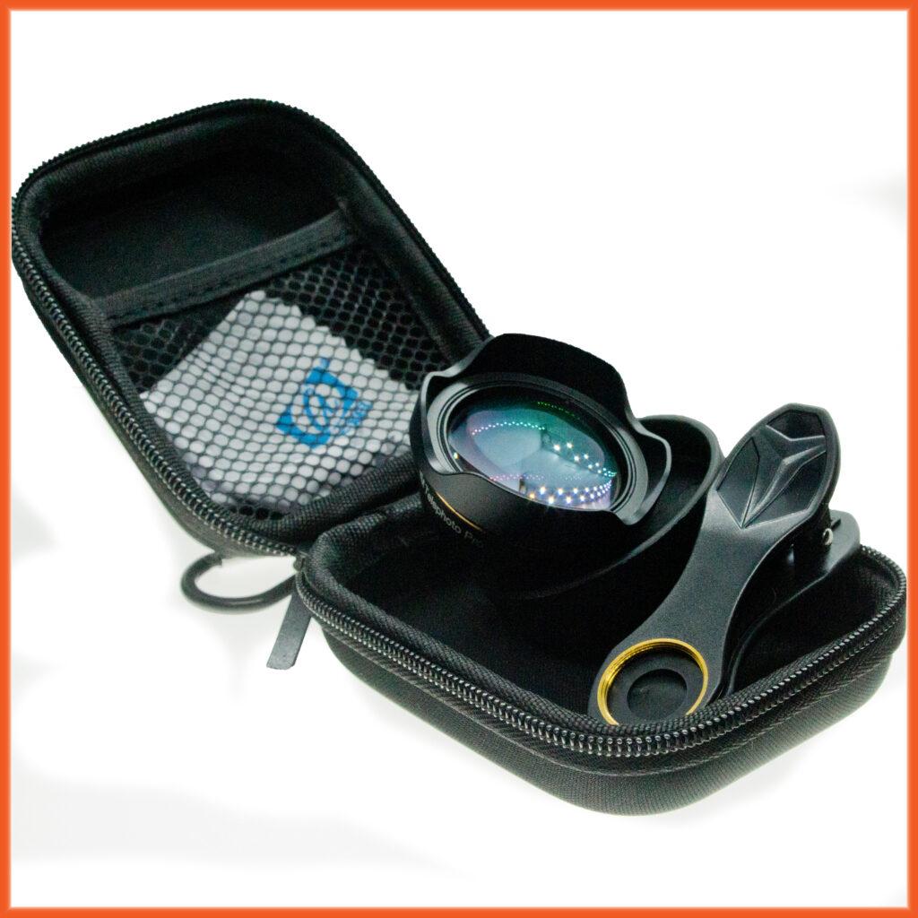 Premium 3 x telephoto lens